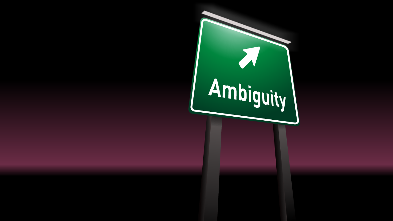 Image result for ambiguity