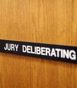 Jury deliberating