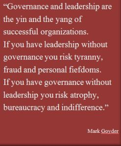 Governance quote